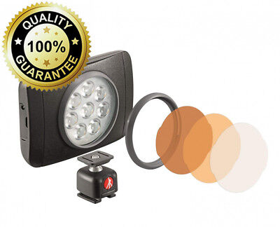 Manfrotto LED Light with Lumimuse, 8 - Black