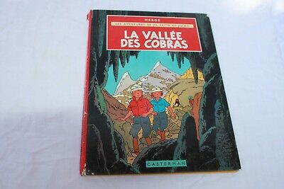 BD. the valley of cobras. them adventures jo, zette and jocko 1957