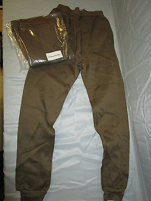 Us Military New Cold Weather Drawers Pants Thermal Polypropylene Size Xl