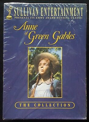 Anne of Green Gables Trilogy Box Set (DVD, 2005, 3-Disc Set) NEW/FACTORY SEALED