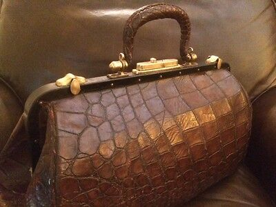 Alligator and Brass Large Scale Doctors Bag