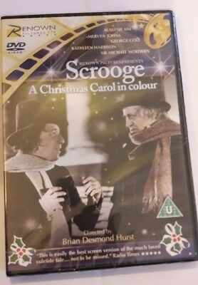 'Scrooge: A Christmas Carol in Colour' 1951 Remastered DVD New Sealed