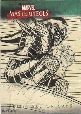 Marvel Comics Skecthafex 75th Ann GREEN GOBLIN BUTCH MAPA art sketch