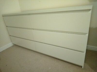 brand new 7d8c1 ab3c9 IKEA MALM 6 drawer chest of drawers