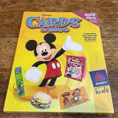 Avery Disney Cards And More Refill Pack
