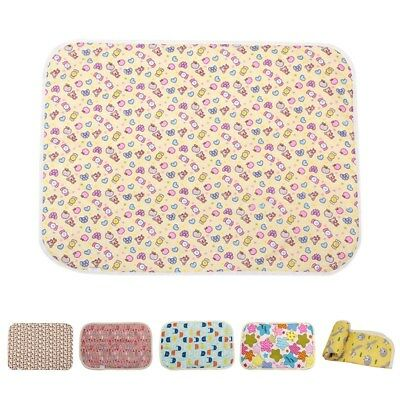 1pc Urine Pad Cartoon Baby Changing Mat Infant Waterproof Bed Sheet Diaper Pad