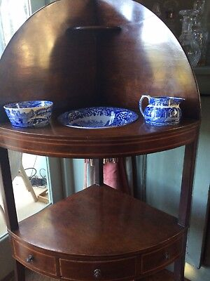 Georgian Washstand With Copeland Spode China Included Collection Only