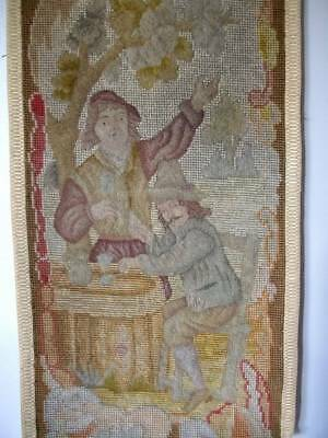 French Chateau  Tapestry  19th Century