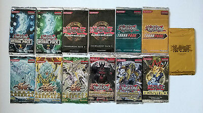 YuGiOh Special Booster Packs Lot English Edition FACTORY SEALED