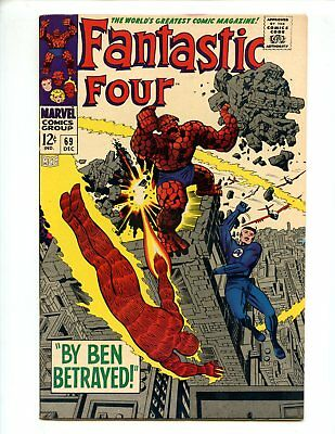 Fantastic Four #69 (1967) Jack Kirby High Grade VF/NM 9.0