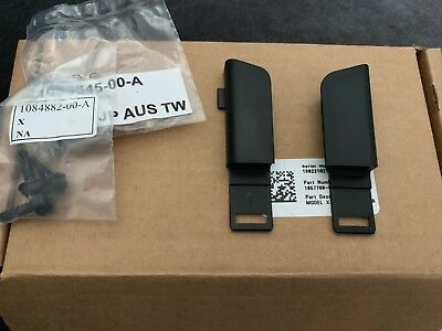 Tesla Model X Blind Holster. iPhone Connection Dock Fittings Adapters OEM 2016+