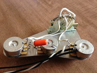 upgrade wiring harness for fender stratocaster cts no load pots crlupgrade wiring harness for fender stratocaster cts no load pots crl orange drop