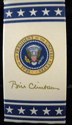 White House Presidential M&M Candy w/Former President Bill Clinton's Signature