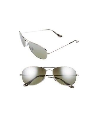Ray-Ban Chromance RB3562 003 5J Men s Silver Frame Polarized Silver Mirror  59mm 8fc3b174bf91