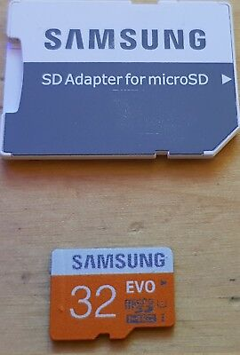 Sd Samsung 32Gb , With Cid Changeable,con Cid Modificabile ,testate - 100% 32 Gb