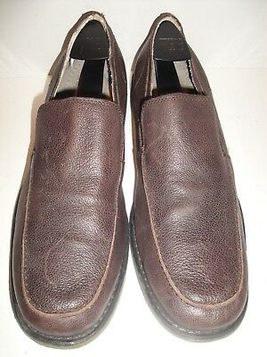 3c3ab01d5c6 NIB CALVIN KLEIN Martyn Penny Loafer Men s Shoe Leather TOFFEE Size ...