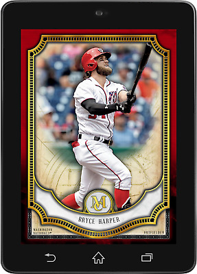 Topps BUNT Bryce Harper RED BASE MUSEUM COLLECTION 2018 [DIGITAL CARD] 50cc