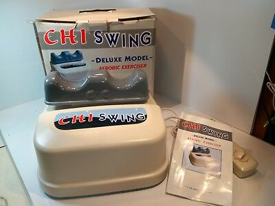 Chi Swing Machine Deluxe USJ-202 Harmony Massager Aerobic Back Exerciser w/Timer