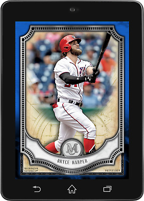 Topps BUNT Bryce Harper BLUE BASE MUSEUM COLLECTION 2018 [DIGITAL CARD] 125cc