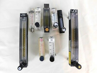 Mixed Lot of Flow Meters, Omega - King  9 units - FLOWMETER