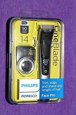 Philips Norelco Oneblade One Blade Face Pro Trimmer Shaver Qp6520/70 New Sealed