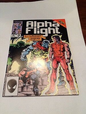 Alpha Flight #28 Marvel Comics November 1985 John Byrne