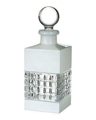 Waterford LONDON Crystal WHITE DECANTER  W / STOPPER   New / Box