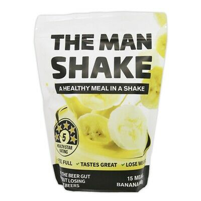 The Man Shake Banana Flavour 900g