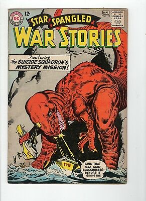 Star Spangled War Stories #110 VG 4.0 Off White Pages