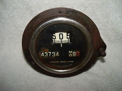 Dodge Brothers Vintage Speedometer Type 3850 1923-1926 Free Shipping