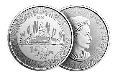 Canada - 5 Dollars ($5) - 2017 - Voyageurs - 150th Anniversary of Canada (2017)