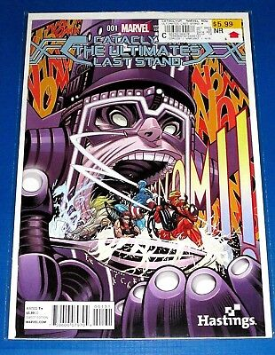 CATACLYSM: THE ULTIMATES LAST STAND #1 NM HASTINGS EXCLUSIVE VARIANT w/pricing
