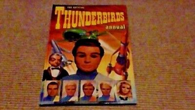 OFFICIAL THUNDERBIRDS ANNUAL 1st UK ONLY H/B 1993 Gerry Anderson Lady Penelope