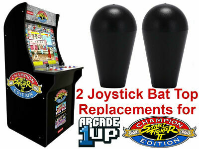Joystick Handles Bat Top Sticks For Arcade1up Cabinets Street Fighter 2 Champion