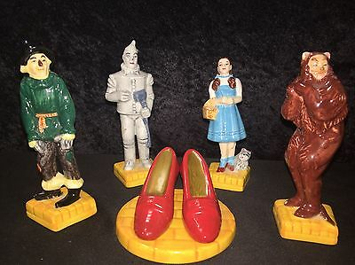 Vintage Wizard of Oz Set Of Salt And Pepper Shakers