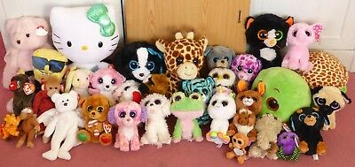 8034ad3f492 Huge Lot TY Beanie Boos Babies inc KIWI rare 1st released - new and used