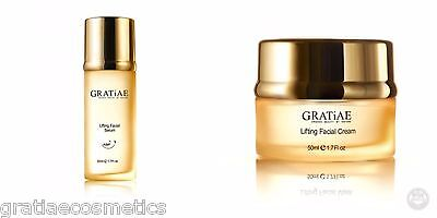 Gratiae Organic Lifting Moisture Cream and Facial Serum Christmas Sale
