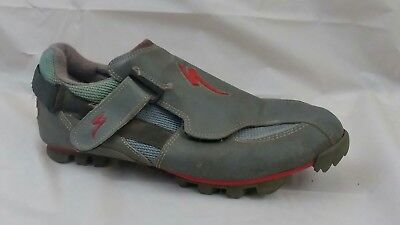 Specialized Ground Control Ultimate MEN 10.5 M EU 44 Gray Bicycling Shoe Leather