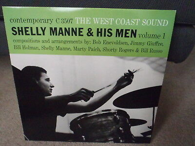 Shelly Manne & his Men West Coast Sound  Jimmy Giuffre Shorty Rogers LP Jazz
