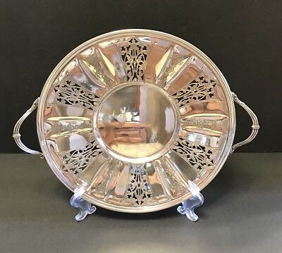 Warwick Plate Silver Plated Handled Tray