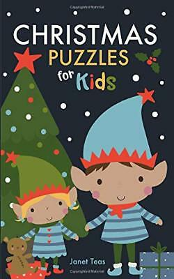 NEW Christmas Puzzles for Kids: Sudoku, Word Searches, Crosswords and More