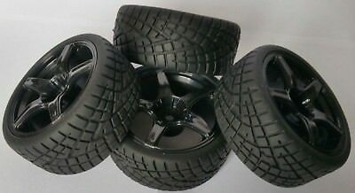 A250090v2 110 On Road Soft Tread Car Rc Wheel And Tyre Twin