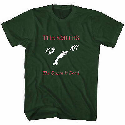 The Smiths The Queen Is Dead T Shirt Green