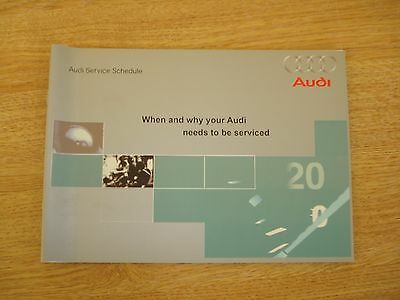 Audi Service Book New All Models Petrol And Diesel A1 A2 A3 A4 A5 A6 A8 S3 Oem<
