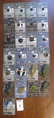 Axis & Allies Miniatures Lot, USSR Mixed Army, USSR 8, 25 pcs