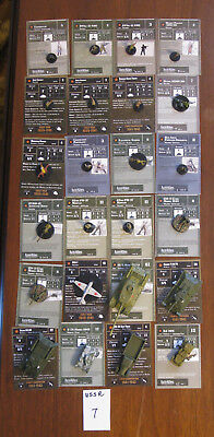 Axis & Allies Miniatures Lot, USSR Mixed Army, USSR 7, 24 pcs