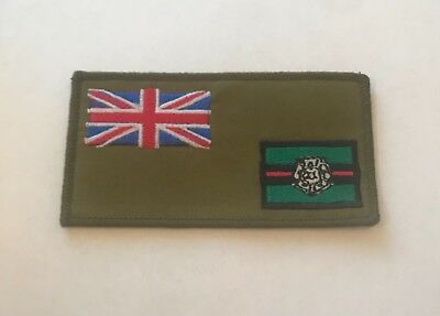 Army Parachute Regiment 3rd Bn Zap Number /& Blood Group Badge Military Green