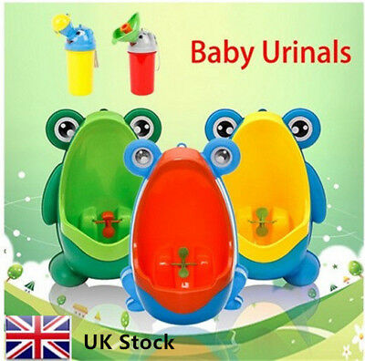 Cute Baby Portable Urinal Travel For kids Car Toilet Kids Vehicular Potty UK