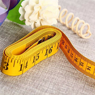 "300CM 120"" Flat Tape Measure for Tailor Sewing Cloth Soft Body Measuring Ruler"