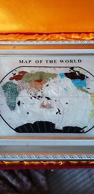Map Of The World In Frame